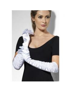Gants blancs longs | Accessoires
