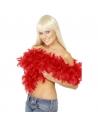 Boa plumes rouges | Accessoires