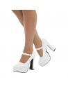 Chaussures compensées femmes années 70 | Accessoires