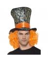 Chapeau mad hatter avec cheveux | Accessoires