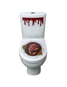 Autocollant zombie pour toilettes | Décorations
