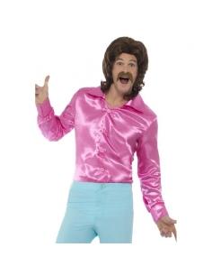 Chemise années 60 homme rose | Déguisement