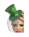 Serre-tête mini chapeau vert | Accessoires