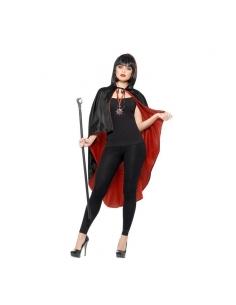 Kit de vampire noir et rouge | Accessoires