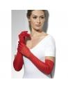 Gants longs rouges | Accessoires