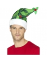 Bonnet de Père Noël vert | Accessoires