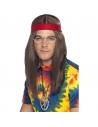 Kit hippie homme   Déguisement