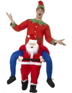 Déguisement piggyback Père Noël | Déguisement Homme