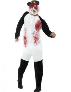 Déguisement combinaison adulte panda zombie | Déguisement Homme