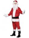 Déguisement Père Noël Deluxe (veste, pantalon, ceinture, bonnet, barbe et couvre-bottes)   Déguisement Homme