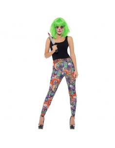 Leggings de clown maléfique | Déguisement