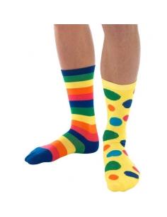 Chaussettes de clown adulte | Accessoires