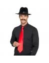 Cravate gangster rouge | Accessoires