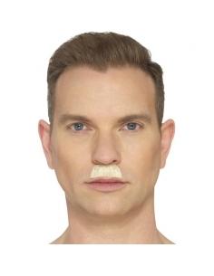Moustache en brosse à dent blonde | Accessoires