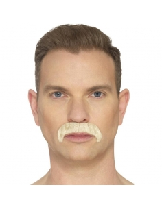 Moustache fer à cheval blonde | Accessoires