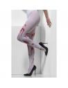 Collants blancs avec tâches de sang | Accessoires