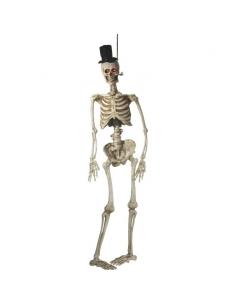 Squelette marié avec yeux lumineux | Décorations