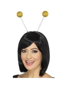 Antennes boules pailletées or | Accessoires