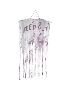 """Banderole de sang """"keep out""""   Décorations"""