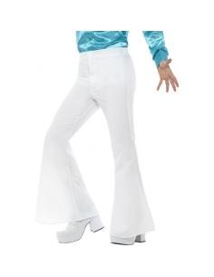 Pantalon patte d'éléphant homme blanc | Déguisement