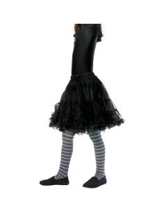 Collants sorcière violet et vert enfant | Accessoires
