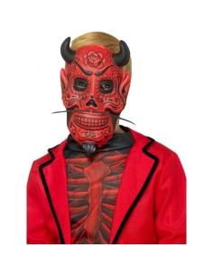 Masque diable enfant Dia de los muertos | Accessoires