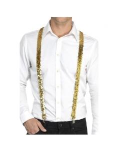 Bretelles or à sequins | Accessoires
