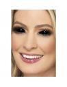 Lentilles 1 jour intégrales noires   Maquillage