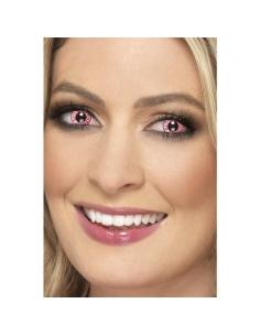 Lentilles 1 jour yeux injectés de sang   Accessoires