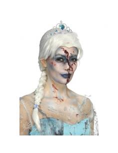 Perruque de princesse des glaces zombies | Accessoires