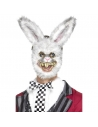 Masque de lapin blanc avec fourrure | Accessoires