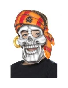 Masque de squelette de pirate | Accessoires