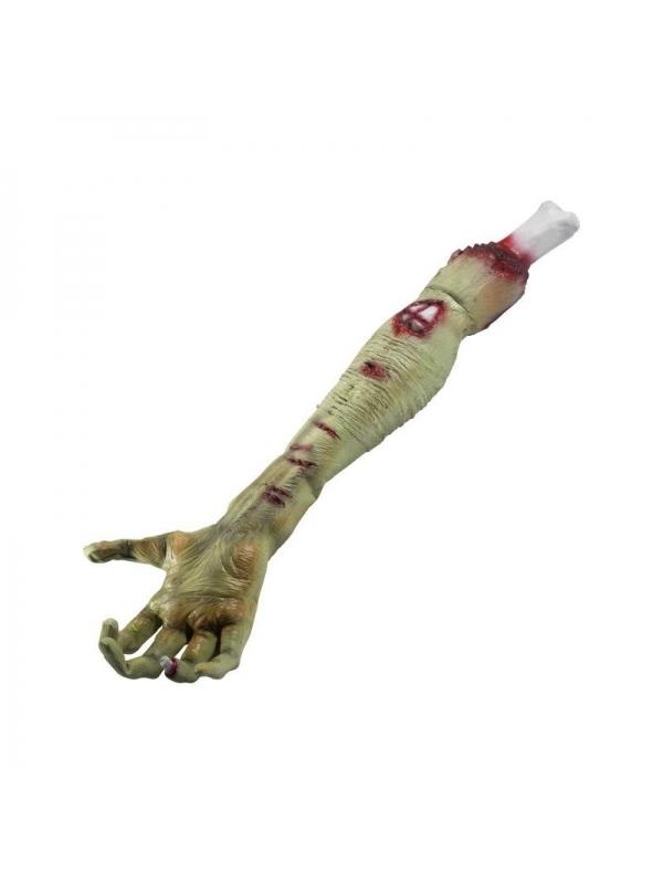 Bras de zombie en latex | Décorations