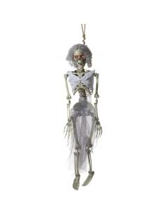 Squelette de mariée animé à suspendre | Décorations