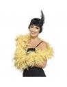 Boa plumes 180 cm vieux jaune | Accessoires