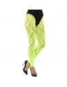 Legging en dentelle vert fluo | Accessoires