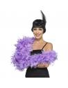 Boa violet   Accessoires