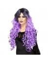 Perruque gothique violette | Accessoires