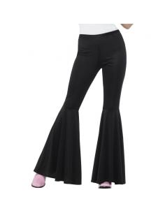Pantalon patte d'éléphant noir | Déguisement