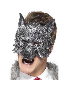 Masque grand méchant loup adulte   Accessoires