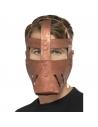 Masque guerrier romain bronze | Accessoires