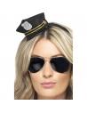 Serre-tête mini chapeau policier | Accessoires
