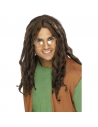 Perruque dreadlocks marron | Accessoires
