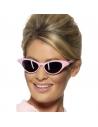 Lunettes rock rose avec brillants   Accessoires