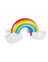 arc-en-ciel gonflable multicolore 48 cm | Décorations