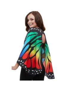 ailes de papillon monarque en tissu multicolore 140 cm | Accessoires
