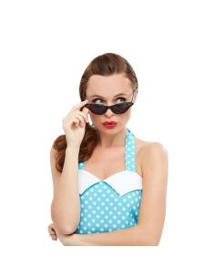 paire de lunettes rock n'roll noire avecstrass | Accessoires