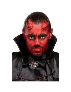 """kit de maquillage à l'eau """"diable"""" rouge et noir (6)   Ange et démon"""
