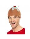 chapeau de pudding de noël marron | Accessoires
