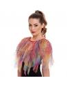 cape d'oiseau de paradis multicolore (3) | Déguisement